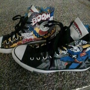Superman high tops